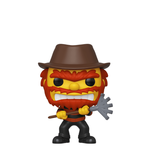 Funko Pop! Animation – The Simpsons Treehouse of Horror #824 – Evil Groundskeeper Willie (Fall Convention 2019 Exclusive) - Simply Toys