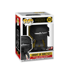 Funko Pop! Movies - Star Wars: Episode IX - The Rise of Skywalker #331 - Knight of Ren (Blaster Rifle) (Exclusive) - Simply Toys
