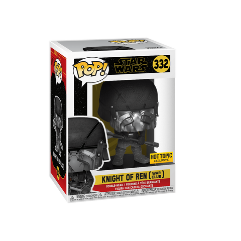 Funko Pop! Movies - Star Wars: Episode IX - The Rise of Skywalker #332 - Knight of Ren (War Club) (Exclusive) - Simply Toys