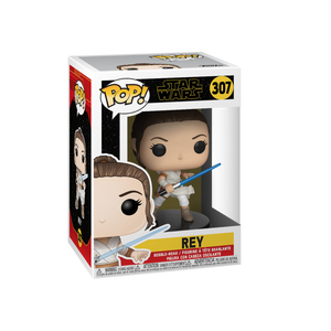 Funko Pop! Movies - Star Wars: Episode IX - The Rise of Skywalker #307 - Rey - Simply Toys