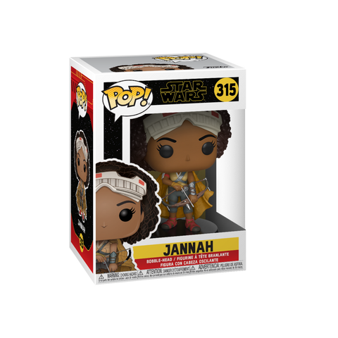Funko Pop! Movies - Star Wars: Episode IX - The Rise of Skywalker #315 - Jannah - Simply Toys