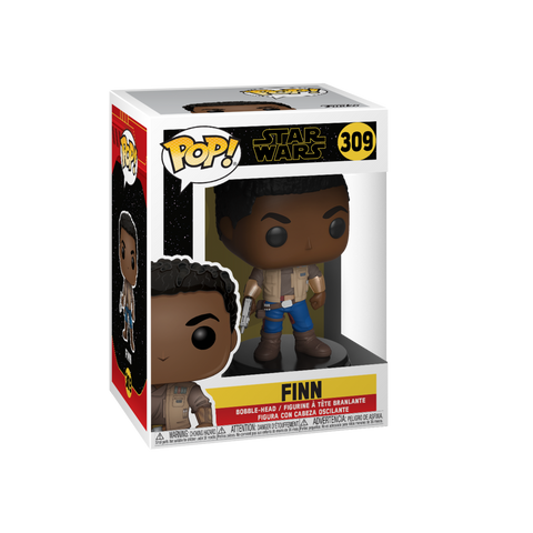 Funko Pop! Movies - Star Wars: Episode IX - The Rise of Skywalker #309 - Finn - Simply Toys