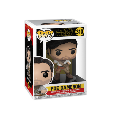 Funko Pop! Movies - Star Wars: Episode IX - The Rise of Skywalker #310 - Poe Dameron - Simply Toys