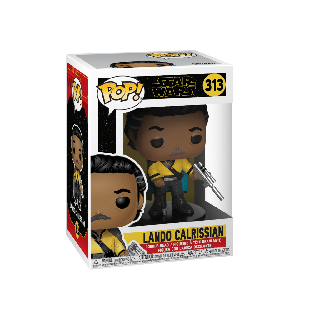 Funko Pop! Movies - Star Wars: Episode IX - The Rise of Skywalker #313 - Lando Calrissian - Simply Toys