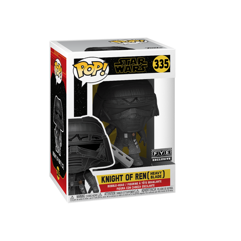 Funko Pop! Movies - Star Wars: Episode IX - The Rise of Skywalker #335 - Knight of Ren (Heavy Blade) (Exclusive) - Simply Toys