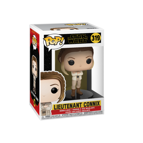 Funko Pop! Movies - Star Wars: Episode IX - The Rise of Skywalker #319 - Lieutenant Connix - Simply Toys