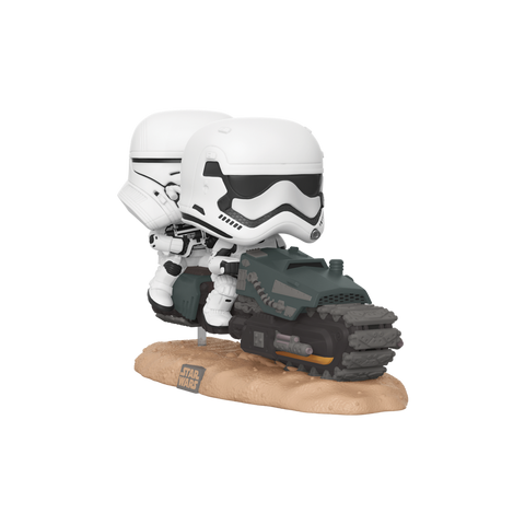 Funko Pop! Rides - Star Wars: Episode IX - The Rise of Skywalker #320 - First Order Tread Speeder - Simply Toys