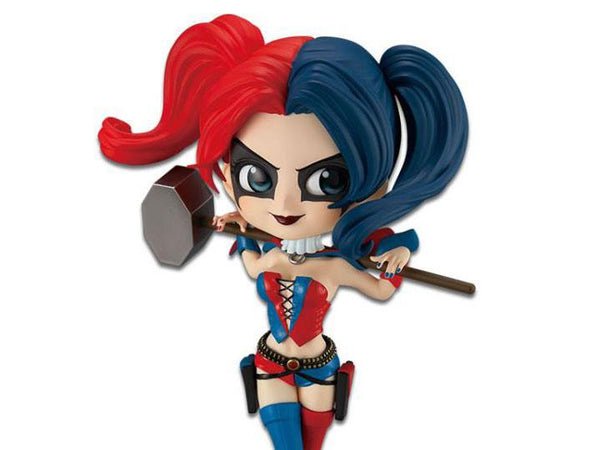 Banpresto DC Comics Q Posket - Harley Quinn (Special Color Version) - Simply Toys