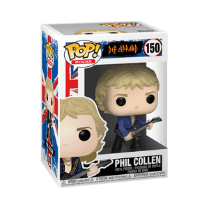 Funko Pop! Rocks - Def Leppard #150 - Phil Collen - Simply Toys