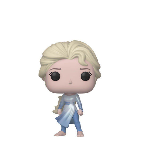 Funko Pop! Movies - Frozen 2 #597 - Elsa (Ocean) (Exclusive) - Simply Toys