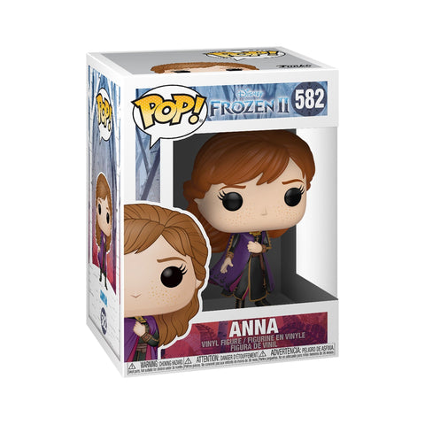 Funko Pop! Movies - Frozen 2 #582 - Anna - Simply Toys