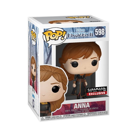 Funko Pop! Movies - Frozen 2 #598 - Anna (Travelling) (Exclusive) - Simply Toys