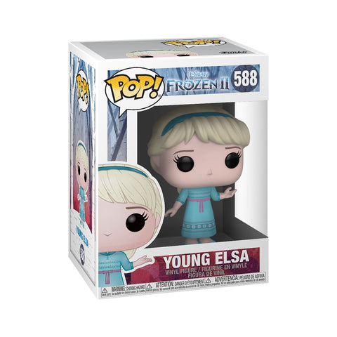 Funko Pop! Movies - Frozen 2 #588 - Young Elsa - Simply Toys