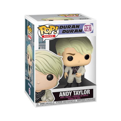 Funko Pop! Rocks - Duran Duran #127 - Andy Taylor - Simply Toys