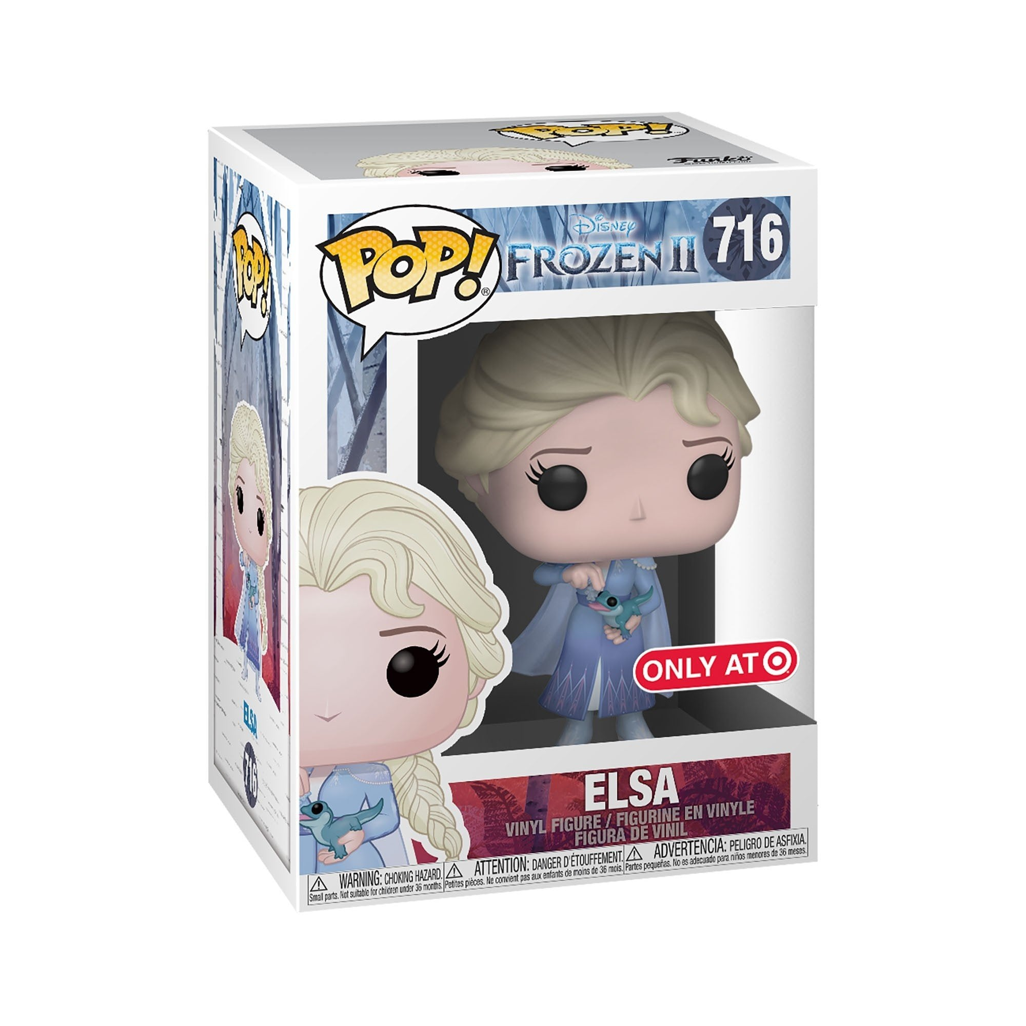 Funko Pop! Movies - Frozen 2 #716 - Elsa (with Salamander) (Exclusive) - Simply Toys
