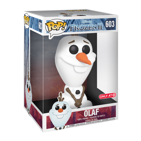 Funko Pop! Movies - Frozen 2 #603 - Olaf (10 inch) (Exclusive) - Simply Toys