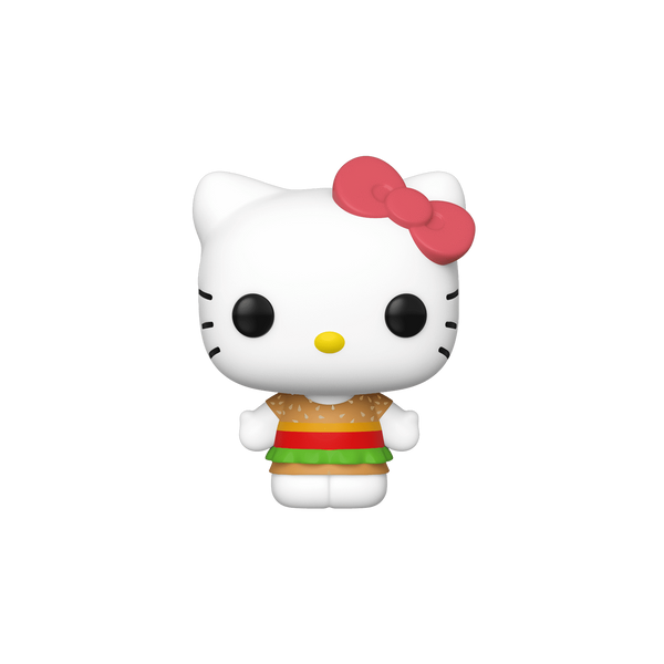 Funko Pop! Animation – Sanrio #29 – Hello Kitty (Kawaii Burger Shop) - Simply Toys