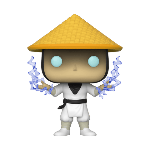 Funko Pop! Games - Mortal Kombat #539 - Raiden with Lightning (Exclusive) - Simply Toys