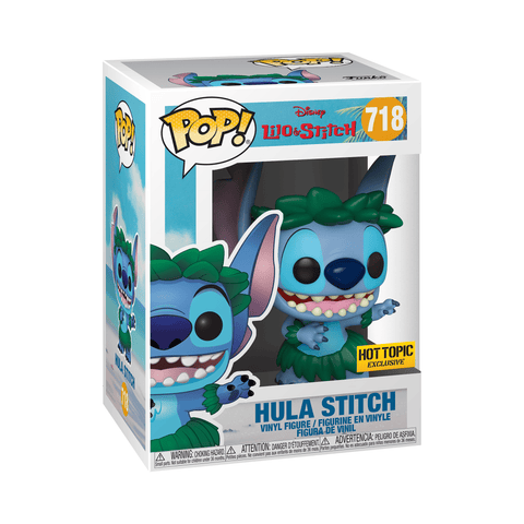 Funko Pop! Movies - Lilo & Stitch #718 - Stitch (Hula) (Exclusive) - Simply Toys