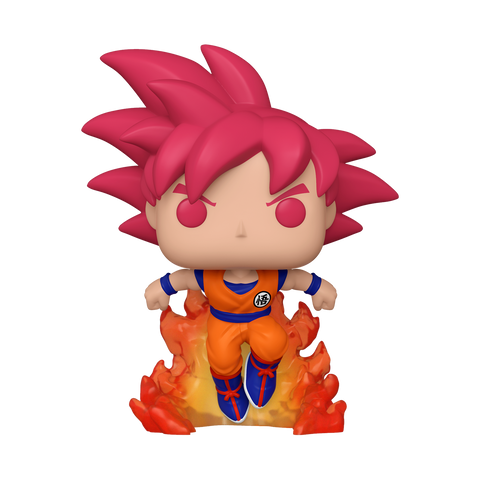 Funko Pop! Animation – Dragonball Super #827 – SSG Goku (Summer Convention 2020 Exclusive)