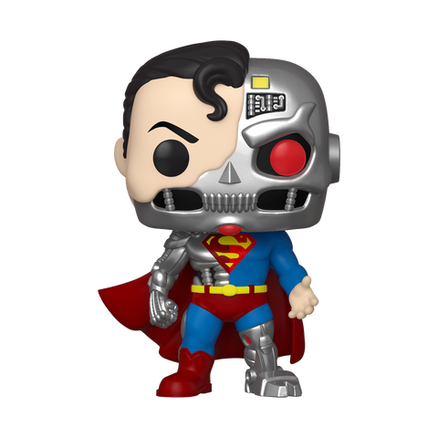 Funko Pop! DC - Superman #346 - Cyborg Superman (Summer Convention 2020 Exclusive)