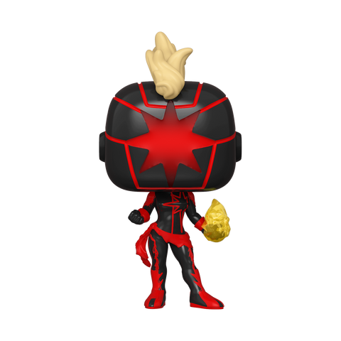 Funko Pop! MARVEL – MARVEL  #657 – Dark Captain Marvel (Summer Convention 2020 Exclusive)