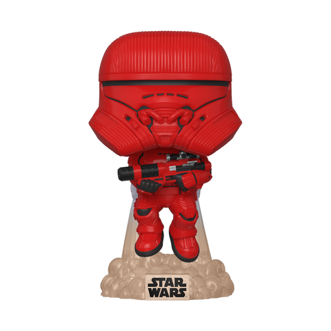 Funko Pop! Movies - Star Wars: Episode IX - The Rise of Skywalker #383 - Sith Jet Trooper (Summer Convention 2020 Exclusive)