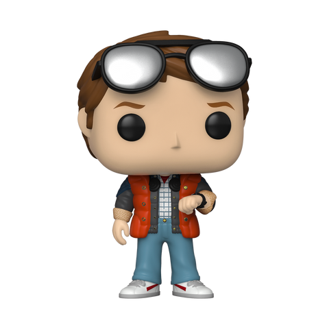 Funko Pop! Television - Back to the Future #965 - Marty (checking Watch) (Summer Convention 2020 Exclusive)