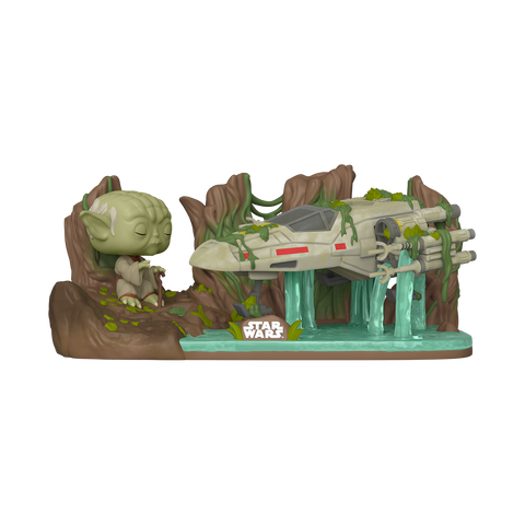 Funko Pop! Star Wars - Star Wars: Empire Strikes Back 40th Anniversary #382 - A Lesson in the Force (Yoda Lifting X-Wing) (Deluxe)