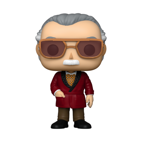 Funko Pop! MARVEL – MARVEL  #657 – Stan Lee (in Smart Suit) (Summer Convention 2020 Exclusive)