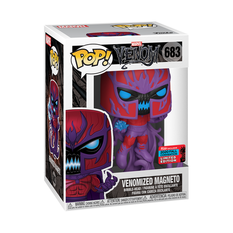 Funko Pop! Marvel - Marvel Venom - Magneto (Fall Convention 2020 Exclusive)