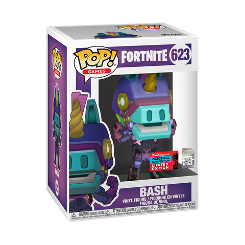 Funko Pop! Games: Fortnite - Bash (Fall Convention 2020 Exclusive)