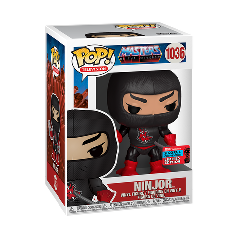 [PRE-ORDER] Funko Pop! Animation - Master Of The Universe #1036 - Ninjor (Fall Convention 2020 Exclusive)