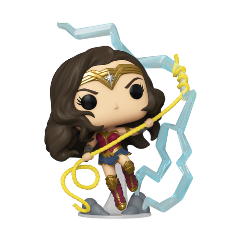 Funko Pop! Heroes - DC #361 - Wonder Woman 1984 - Wonder Woman Riding Lightning (Glow in the Dark) (Fall Convention 2020 Exclusive)