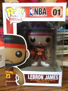 Funko Pop! Sports - NBA: Cleveland Cavaliers #01 - LeBron James *VAULTED* - Simply Toys