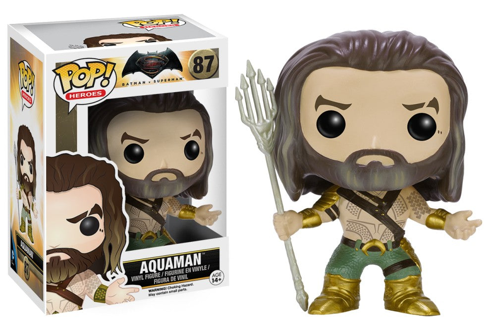 Funko Pop! DC - Batman vs Superman #87 - Aquaman - Simply Toys