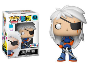 Funko Pop! Television - Teen Titans GO! #582 - Rose Wilson (Exclusive) - Simply Toys
