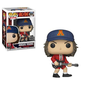 Funko Pop! Rocks - AC/DC #91 - Angus Young (Red Jacket) (Exclusive) - Simply Toys