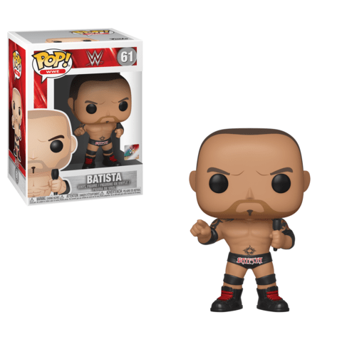 Funko Pop! Sports - WWE #60 - Dave Batista - Simply Toys