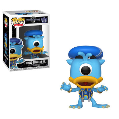 Funko Pop! Games - Kingdom Hearts 3 #410 - Donald (Monsters Inc.) - Simply Toys