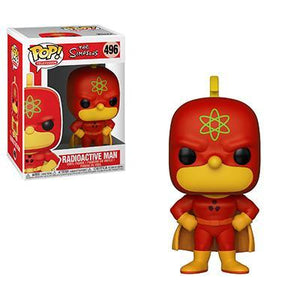 Funko Pop! Animation – The Simpsons #496 – Radioactive Man (Homer Simpson) - Simply Toys