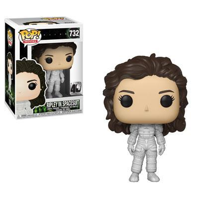 Funko Pop! Movies - Alien (40th Anniversary) #732 - Ripley in Spacesuit - Simply Toys