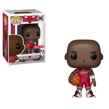 Funko Pop! Sports - NBA: Chicago Bulls #54 - Michael Jordan (Rookie) (Exclusive) - Simply Toys