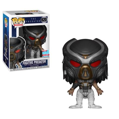 Funko Pop! Movies - The Predator #620 - Fugitive Predator (Disappearing) (Fall Convention 2018 Exclusive) - Simply Toys