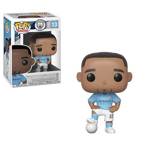 Funko Pop! Sports - Football: Manchester City #13 - Gabriel Jesus - Simply Toys