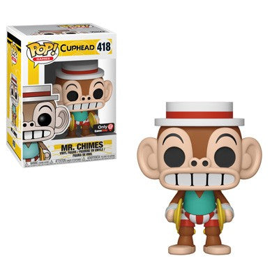 Funko Pop! Games - Cuphead #418 - Mr. Chimes (Exclusive) - Simply Toys