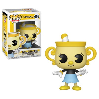 Funko Pop! Games - Cuphead #416 - Ms. Chalice - Simply Toys