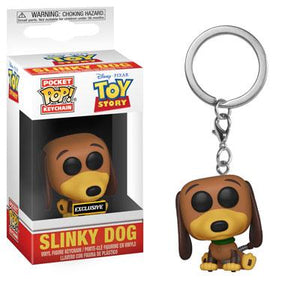 Funko Pop! Keychain - Toy Story - Slinky Dog (Exclusive) - Simply Toys