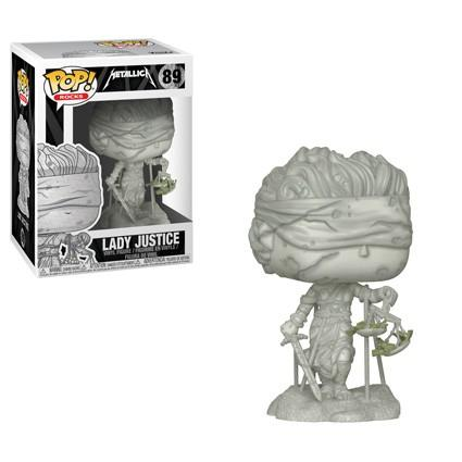 Funko Pop! Rocks - Metallica #89 - Lady Justice - Simply Toys