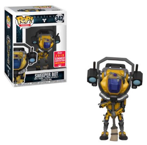 Funko Pop! Games - Destiny #342 - Sweeper Bot (Exclusive) - Simply Toys
